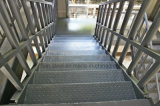 Быстрая и простая установка Сборные стальные конструкции лестницы ведут строительство
