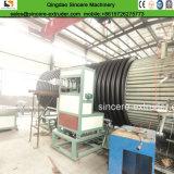 A produção de tubos de polietileno de parede oco linha de extrusão