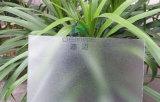 지면에 의하여 보호되는 폴리탄산염 매트 장 600*600 의자 매트