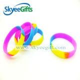 Silikon-Armband mit segmentierter Farbe