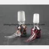 Farbiges Huka-Rohr-Zubehör-Glaswasser-Rohr des Filtration-Wiederanlaufs