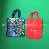 O logotipo personalizado promoção impresso saco não tecidos laminado reutilizáveis