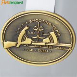 Médaille d'argent de nouvelle conception avec couleur rétro