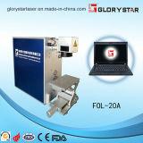 Láser de fibra Máquina de la marca para los metálicos y no metálicos Materiales
