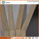le film de faisceau d'eucalyptus de panneau de construction de colle de mélamine de taille de 4*8 15mm/faisceau de peuplier a fait face au contre-plaqué
