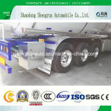 三車軸42000liter燃料のディーゼルタンカーのトレーラー/タンクトレーラー
