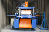Facile d'utiliser le roulis en acier de panneau de toit de couture de position de feuille de toit formant la machine