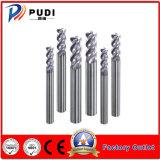 4 flautas HRC60 Carboneto sólido do raio do canto Cortadores de moagem
