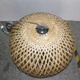 Lampe pendentif en bois rond en bois naturel décoratif en style chinois