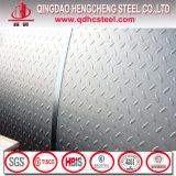 Plaque Checkered en acier galvanisée d'IMMERSION chaude
