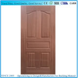 Plywood Moulded Door Skin with Natural Wood Sapelli Veneer