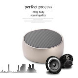 Round Design Mini haut-parleur sans fil Bluetooth portable pour MP3