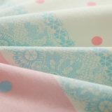 Bedsheet Home impresso do algodão do fundamento