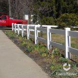 загородка лошади загородки ранчо 2-Rail