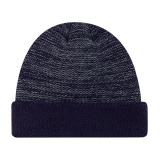Темно-синий цвет Зимнего Custom трикотажные Beanie Red Hat