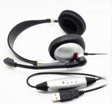 TPE Wire& USB 헤드폰을%s 가진 고품질 입체 음향 이어폰