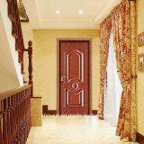 Ce porte de sécurité en acier de qualité pour l'appartement de la porte d'Amérique (SX-0042)
