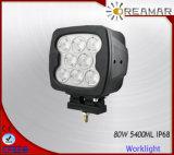linterna del CREE 6500lm Pi68 LED de 6inch 80W para el carro campo a través 4X4