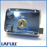 311cp6-2mm Iron Lock Case Brass Cylinder Door Rim Lock
