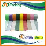 Клейкая лента для герметизации трубопроводов отопления и вентиляции ткани прилипания золотистого поставщика Китая сверхмощное хорошее