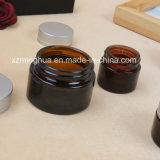 Estetica crema di vetro del vaso di cura di pelle