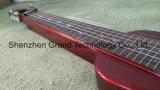 Hawaii Portable Travel mini-guitarra eléctrica em vermelho (TG-1)