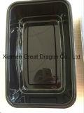Пластиковый контейнер прямоугольник микроволновой печи (обед) (фунтов12003)