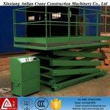 Plataforma de elevação hidráulica de 2 a 12 m Plataforma de elevação de tesoura interna