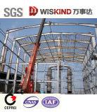 Светлый промышленный пакгауз стальной структуры большой пяди