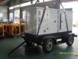 generador móvil insonoro de 20kVA~250kVA Tralier con CE/ISO/CIQ