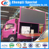 SaleのためのP8 P10 Colorful Screen Outside Advertizing LED Truck