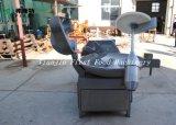 Misturador de aço do corte de /Meat da máquina do interruptor inversor da bacia de Staniless para a carne Prossesing