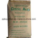 Polvo blanco cristalino del 99,5% de ácido cítrico