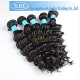 Qualitäts-tiefes Wellen-Haar-brasilianisches Jungfrau-Haar
