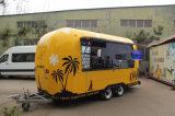 Tc-Ca03 de mobiele Aanhangwagen van het Voedsel met de Machine van het Roomijs