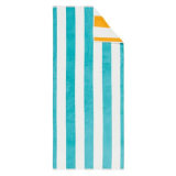 最上質のCustomeは柔らかいジャカードビーチタオルを作った