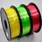 실크는 ABS/PLA를 인쇄하는 3D 인쇄 기계를 위한 중합체 필라멘트를 좋아한다
