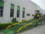 Les rampes de déchargement hydraulique mobile pour l'entrepôt