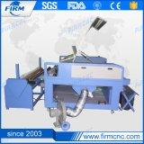 Двойной головки CO2 ткани лазерная резка машины с автоматической подачи