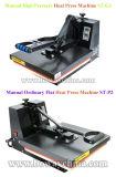 St G1 수동 고압 편평한 t-셔츠 열 압박 열 열 최신 이동 인쇄 기계