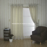 Tocar cortina de ventana de lino poliéster venta de la tapa 100%