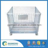 A capacidade de carga de 1000 kg Palete de malha de arame dobrável