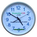 Plastique promotionnelle Horloge murale décorative Quartz silencieux