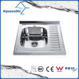 Dissipador de cozinha do aço inoxidável do cetim de Undermount (ACS5446)