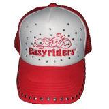 Chapéu tradicional do camionista do tampão do camionista com parte traseira Gj1713 da espuma