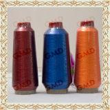 Weaving를 위한 St Type Colorful Metallic Yarn