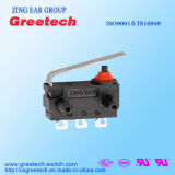 Waterdichte Mini Automobiel Micro- Schakelaar 2A 4A met ENEC/Ce/UL/cUL- Certificaat