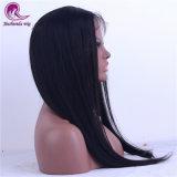 il groviglio morbido diritto dei capelli del Virgin 20inch dei capelli della parrucca piena svizzera cinese del merletto libera