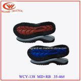 Único Rb unisex Outsole de EVA del diseño de las sandalias ocasionales más nuevas de la playa para hacer los zapatos