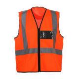 Pas Zak met Vest van de Veiligheid van de Ritssluiting het Weerspiegelende aan